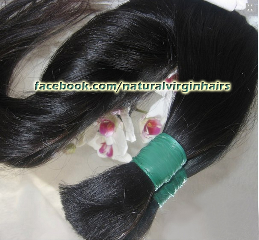 Bulk hair for braiding