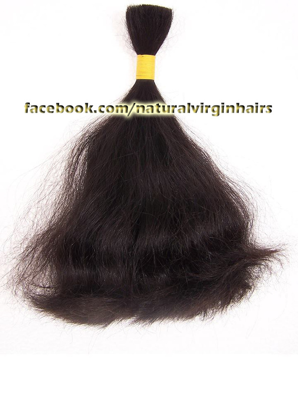 Bulk loose hair extensions