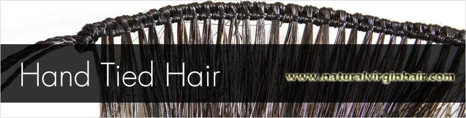 hand-Tied Weft Hair