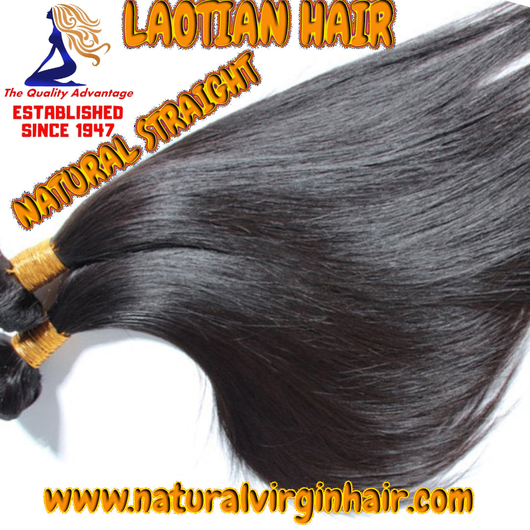 Laotian Natural Straight Hair