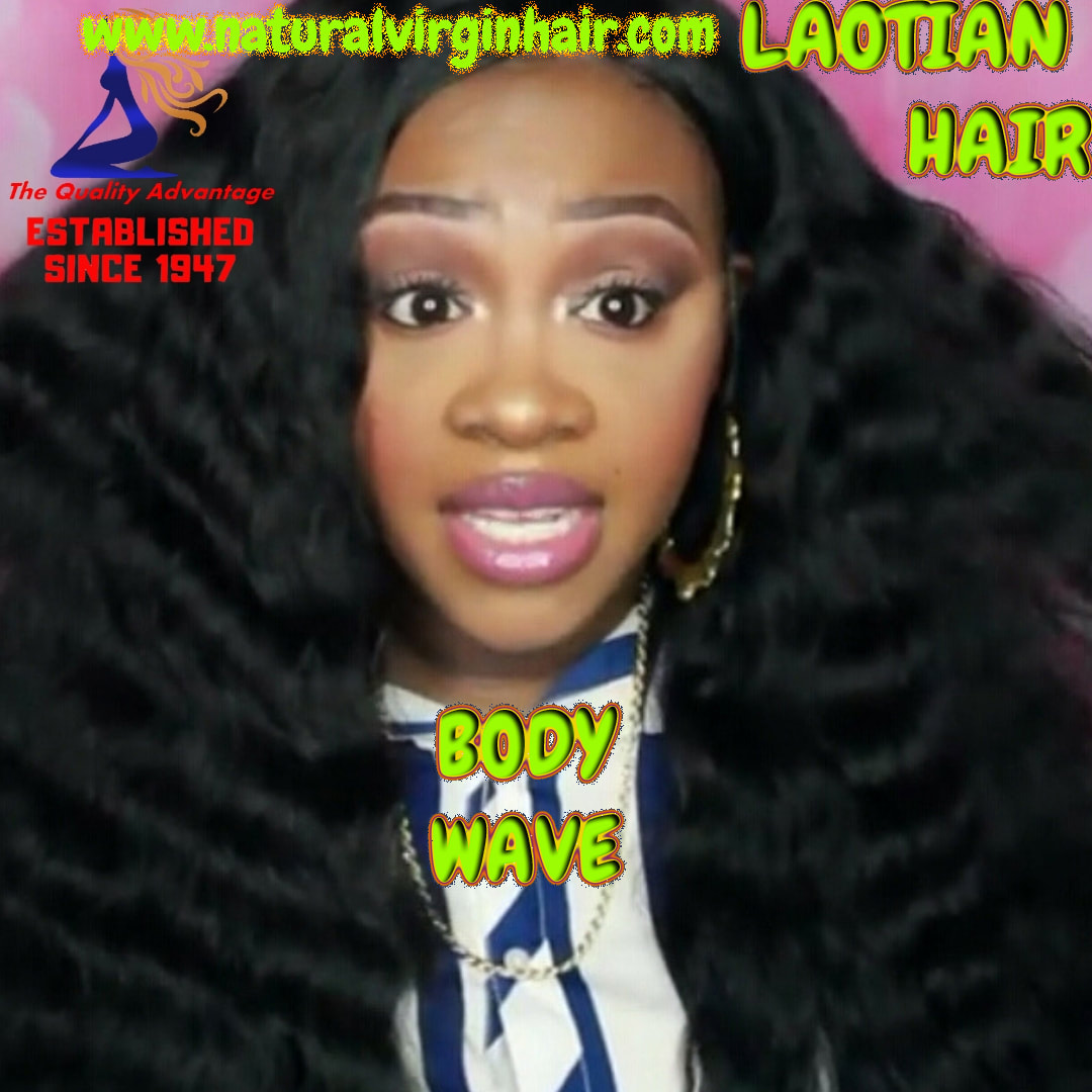 Laotian Natural Body Wave Hair