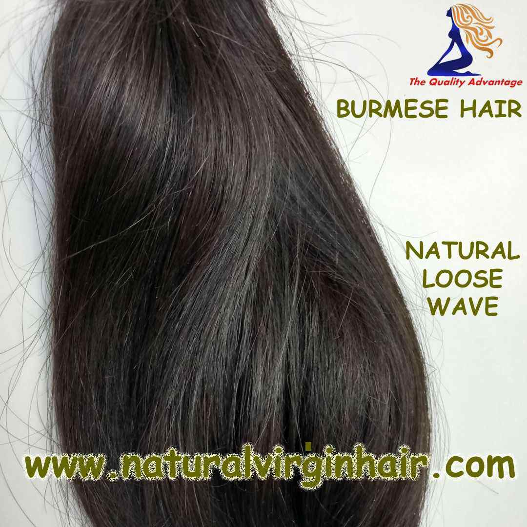 Natural Burmese Hair